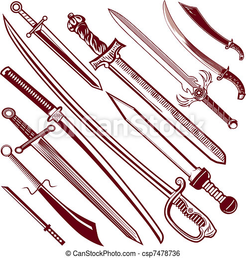 Sword Collection - csp7478736