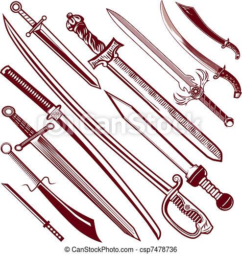 Sword Collection - csp7478736