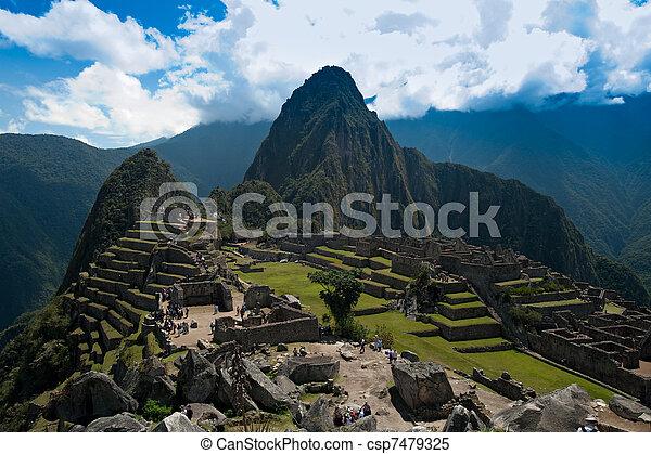 Signature shot of Machu Picchu