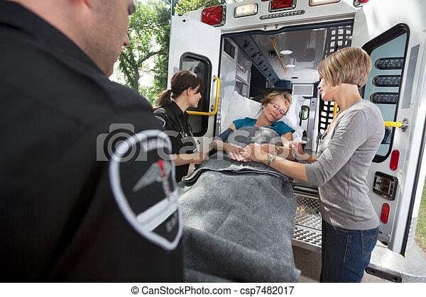 Senior Care Ambulance Emergency - csp7482017