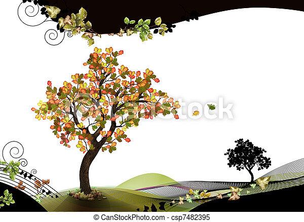 Nature header and footer - csp7482395