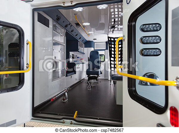 Ambulance Interior - csp7482567
