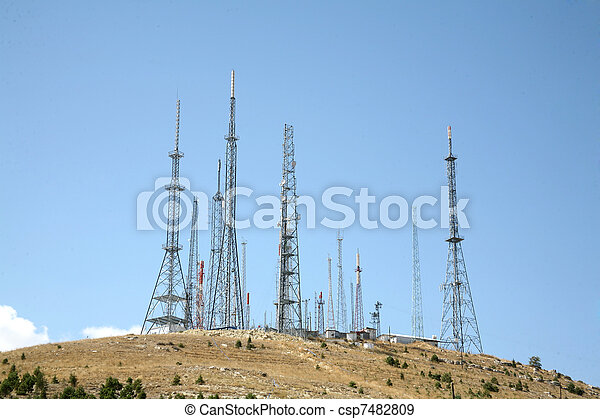 antena, fundo - csp7482809