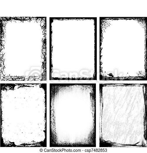 Textured Frames - csp7482853