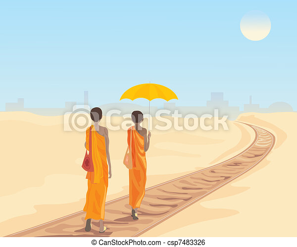 railway tracks - csp7483326