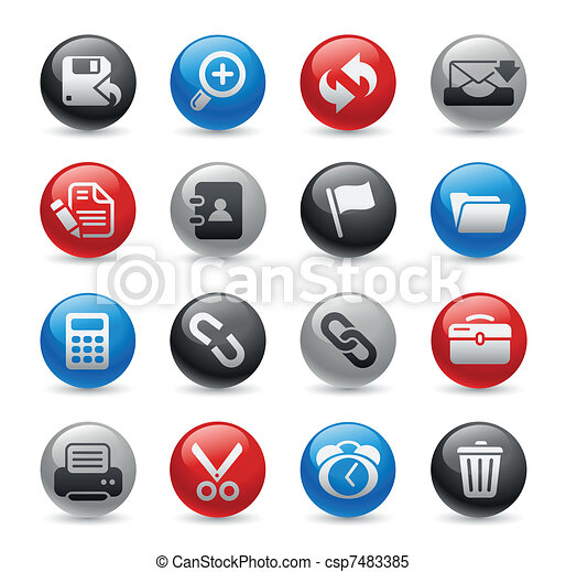 Web Interface / Gel Pro - csp7483385