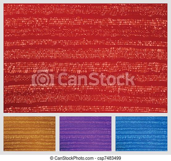 Craft textile texture - csp7483499