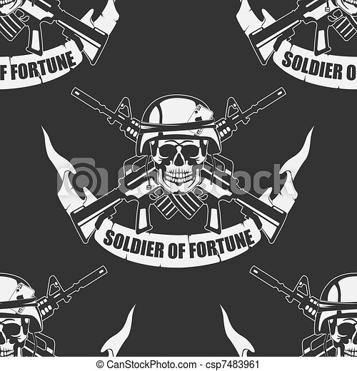 Army background a Seamless - csp7483961