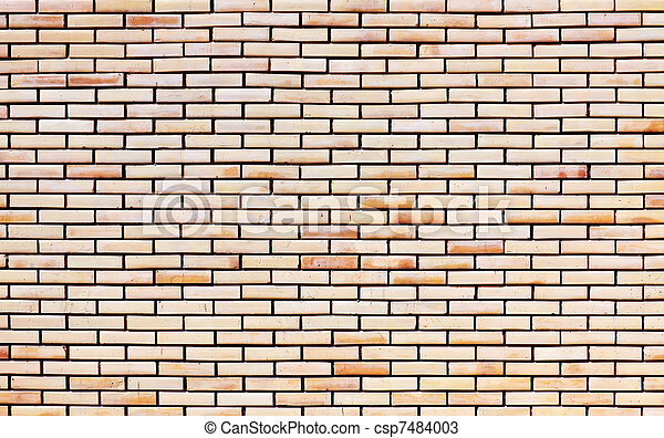 Red brick masonry - csp7484003