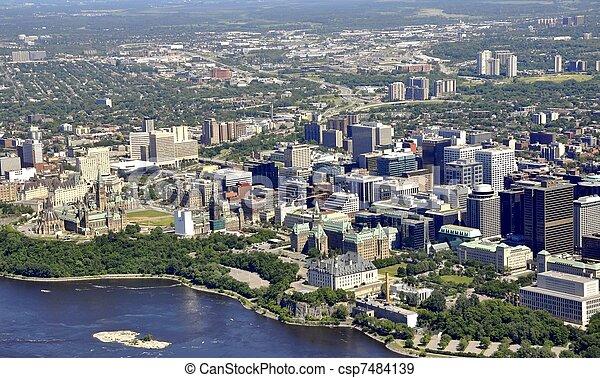 Ottawa aerial - csp7484139