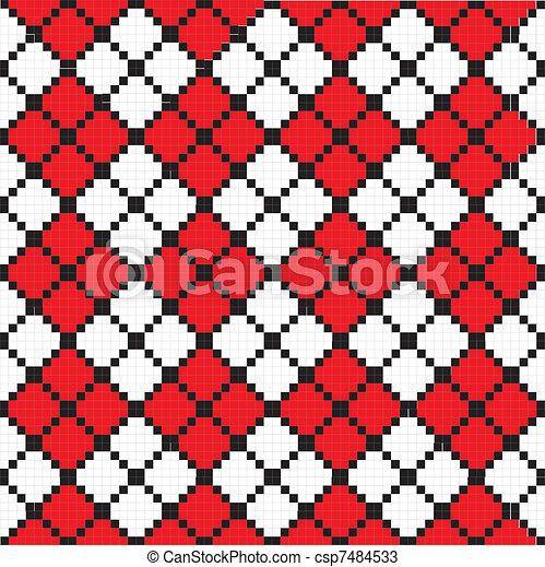 Zigzag pattern - csp7484533
