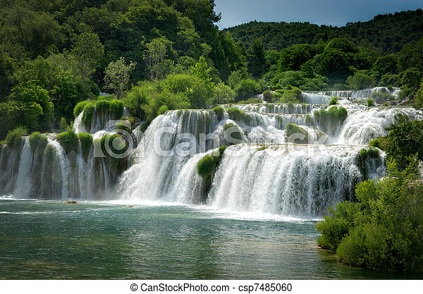 Krka waterfalls - csp7485060