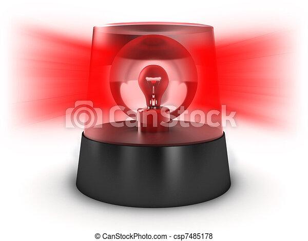Flashing light - csp7485178