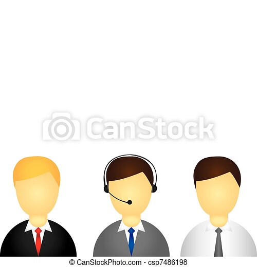 executive icon - csp7486198