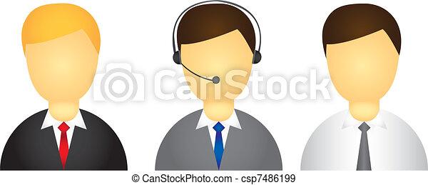executive icon - csp7486199