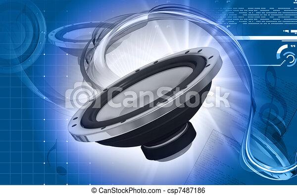 Car stereo  - csp7487186