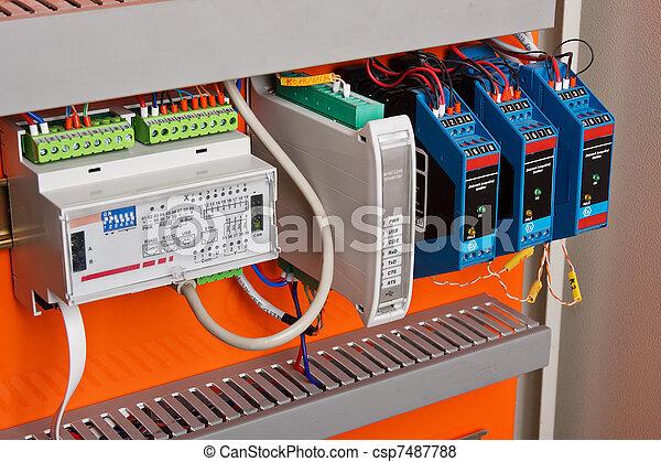 Control panel  - csp7487788