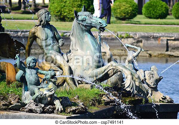 Fountains of Petergof - csp7491141