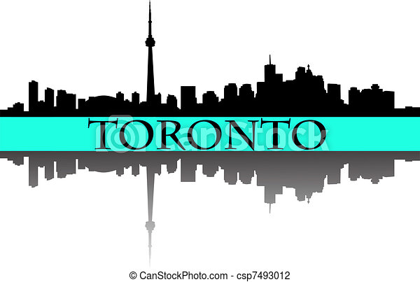 Toronto skyline - csp7493012