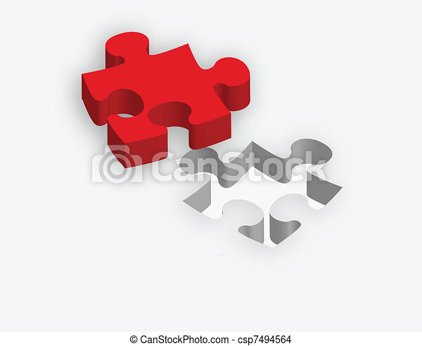 concept of fitness to the need via puzzle puzzle illustration - csp7494564