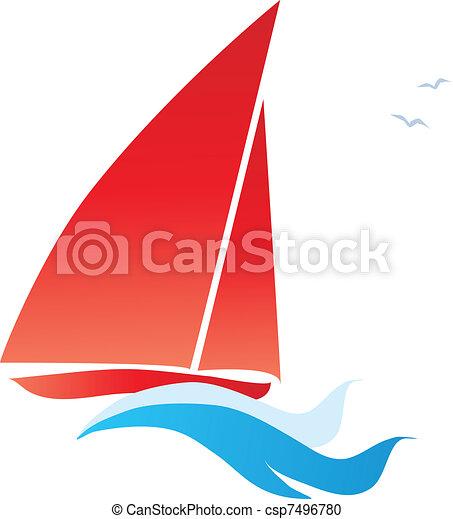 red sail - csp7496780