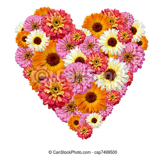 Photographies de bouquet coeur forme fleurs bouquet de fleurs dans - Fleurs en forme de coeur ...