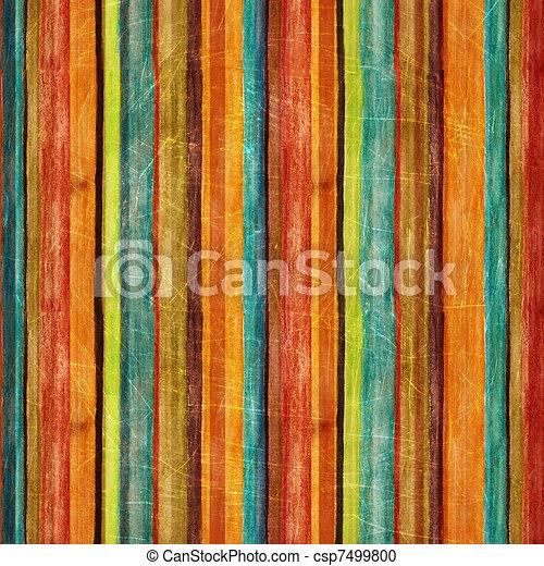 Retro stripe pattern  - csp7499800