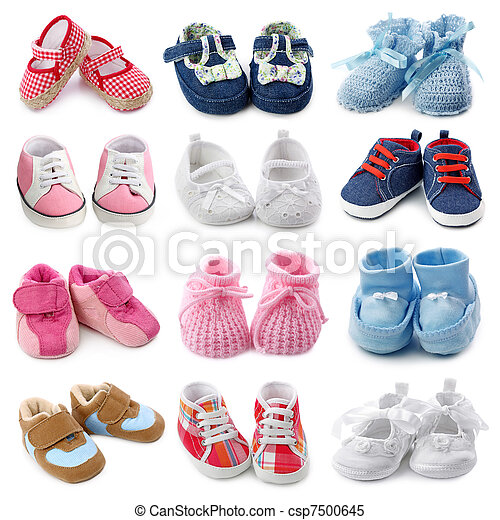 Baby shoes collection - csp7500645