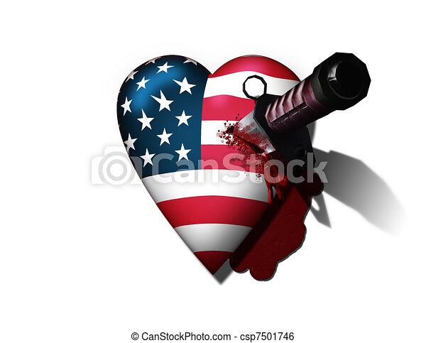 USA Hurt - csp7501746
