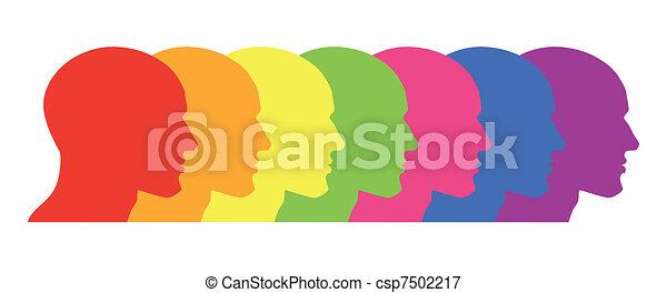 Orgulho Gay - csp7502217
