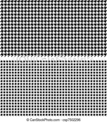Stock illustration of textura pied de poule ilustracao de variedades de tex - Pied de coq pied de poule ...