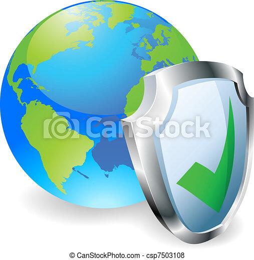 Internet security concept - csp7503108
