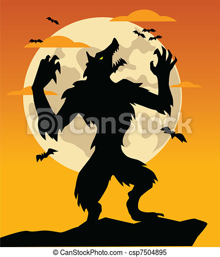 Clip Art Werewolf Clipart werewolf clipart and stock illustrations 2777 vector werewolf