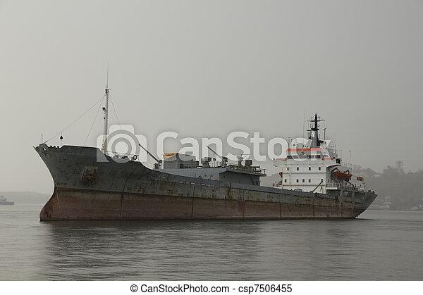 Merchant ship - csp7506455