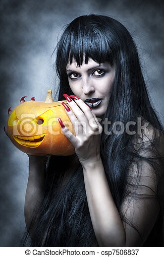 image de sexy femme halloween maquillage halloween. Black Bedroom Furniture Sets. Home Design Ideas