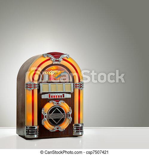 Retro Jukebox - csp7507421