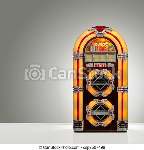 Retro Jukebox - csp7507499