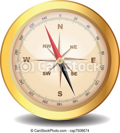 classical compass  - csp7508674