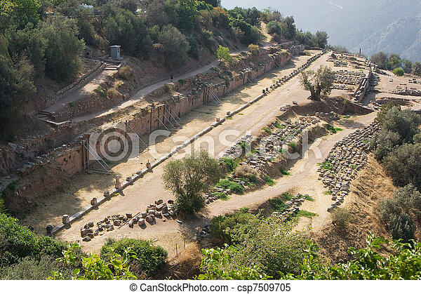 delphi oracle Greece - csp7509705