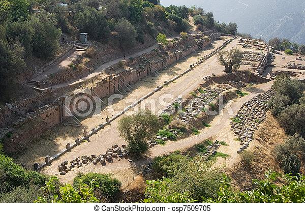 delphi oracle Greece - csp7509705