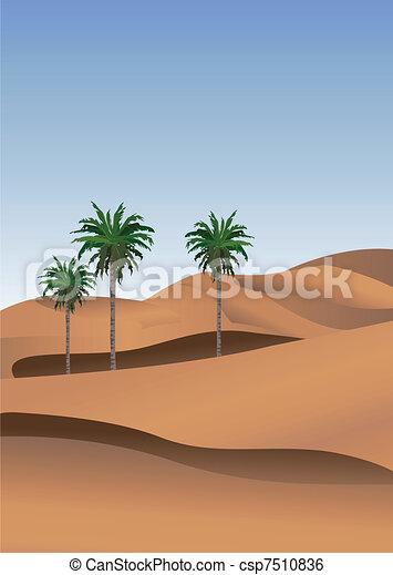 Sahara  - csp7510836