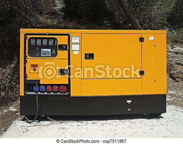 Electricity Generator - csp7511867