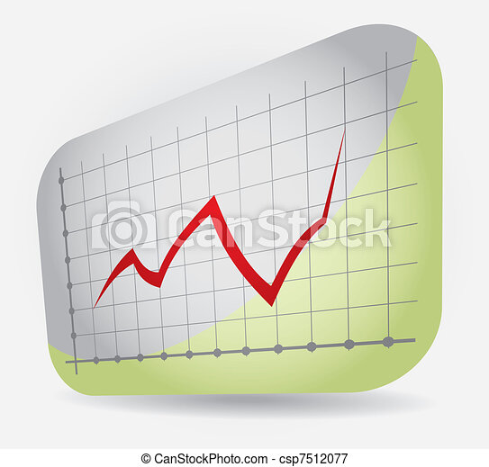 Graph of profit - csp7512077