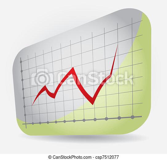 Graph of profit - csp7512077