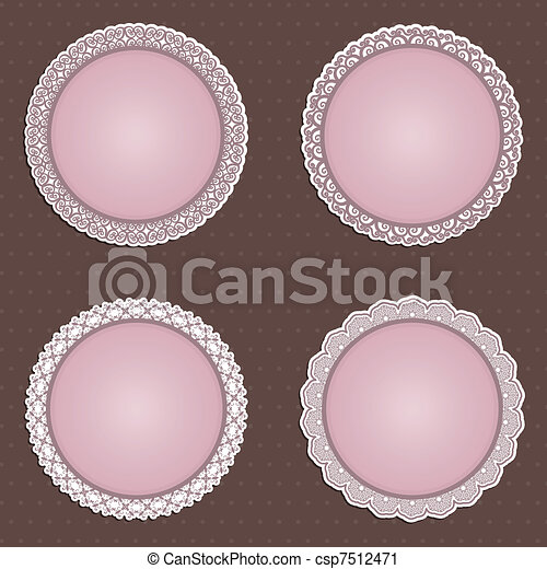 Cute circular borders - csp7512471
