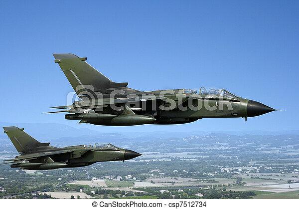 Fighter jets - csp7512734