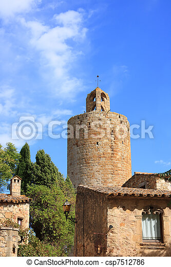 Pals (Costa Brava, Spain) - csp7512786
