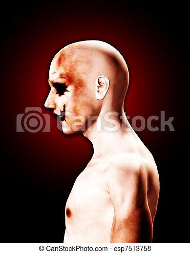 Strange Psychotic Man  - csp7513758