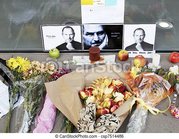 Tribute to Apple\'s Steve Jobs - csp7514486