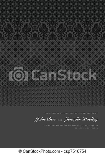 Vector Multiple Patterns Background - csp7516754